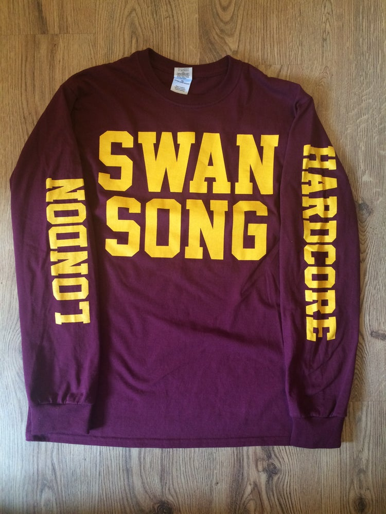 Image of SS Long Sleeve (Burgundy)