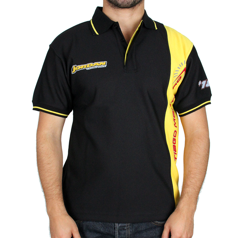"Image of Tiago Monteiro Men´s F1 ""Jordan"" Polo Shirt"