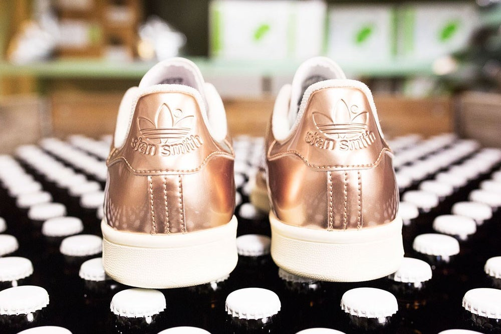 "Image of ADIDAS STAN SMITH X SNS ""COPPER KETTLE"""