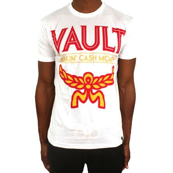 Image of MCM Tee (White/Yellow/Red)