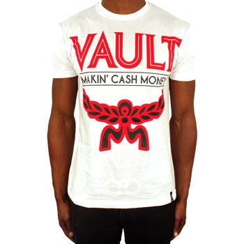 Image of MCM Tee (White/Red/Black)