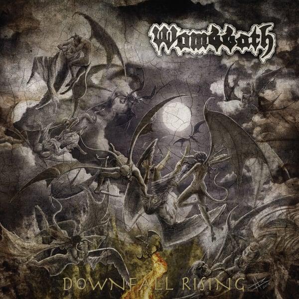 "Image of WOMBBATH ""Downfall Rising"" CD"