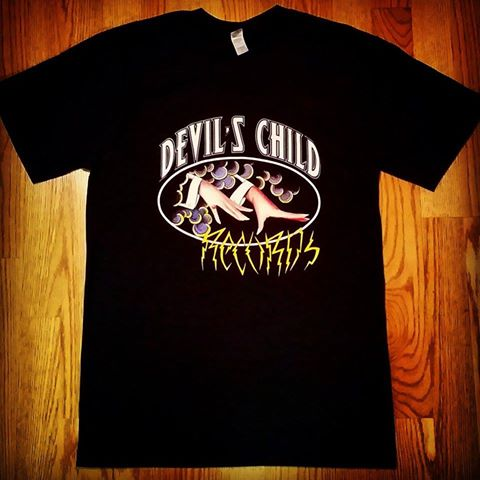 Image of Devil's Child Records Logo Tee