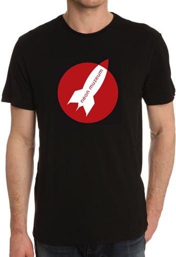 Image of T-Shirt - Neon Muzeum Logo