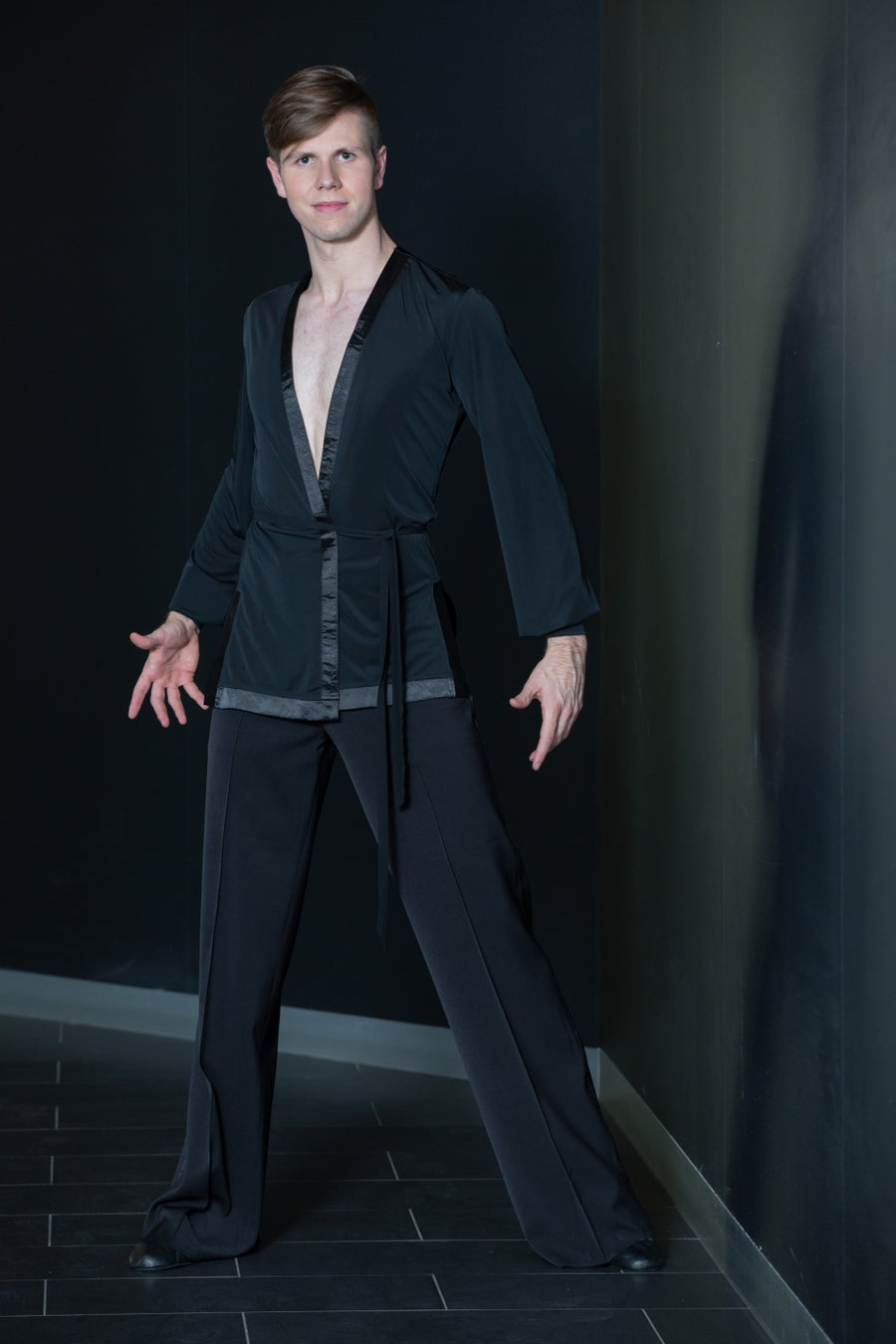 Image of Men's Over Shirt E9437 Dancewear latin ballroom