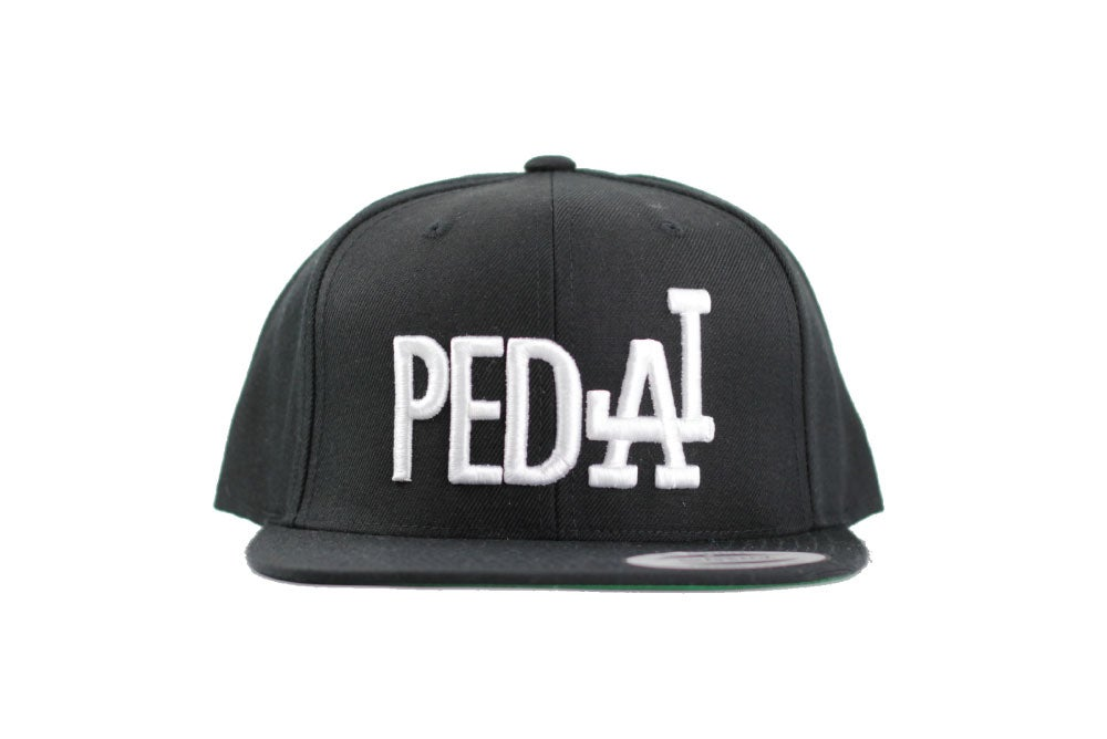Image of PEDAL Black Snapback Unisex One size