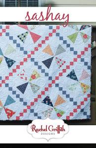Image of sashay quilt pattern #113 (PDF VERSION)
