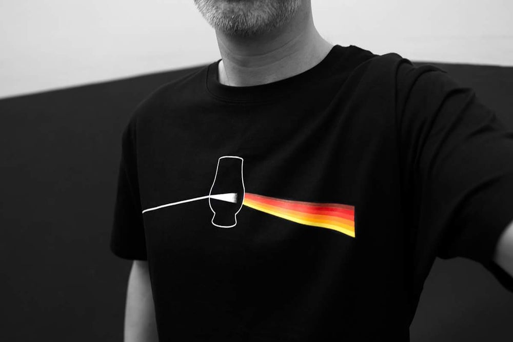 Image of Dark Side of the Malt - Black T-Shirt