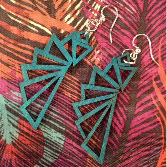 Image of Geometric Earrings