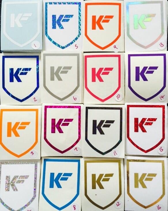 Image of Kleen Freaks Shield Sticker