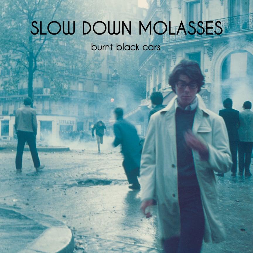Image of Slow Down Molasses - Burnt Black Cars CD