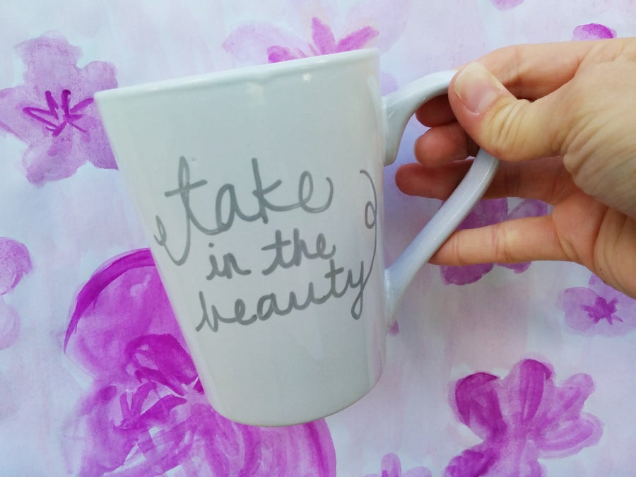 Image of take in the beauty