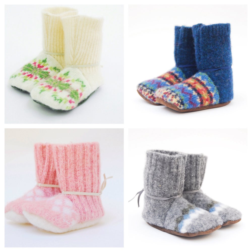 Image of Baby/toddler booties