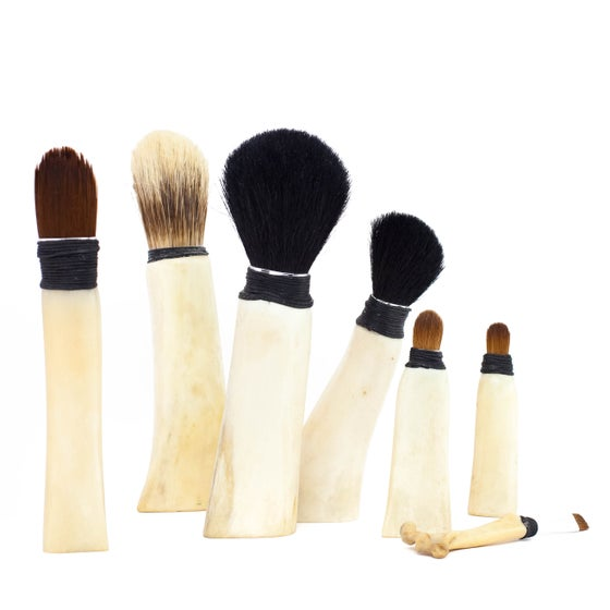 Image of Bone Vanity Brushes