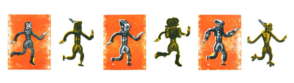 Image of Robo Gocco Print