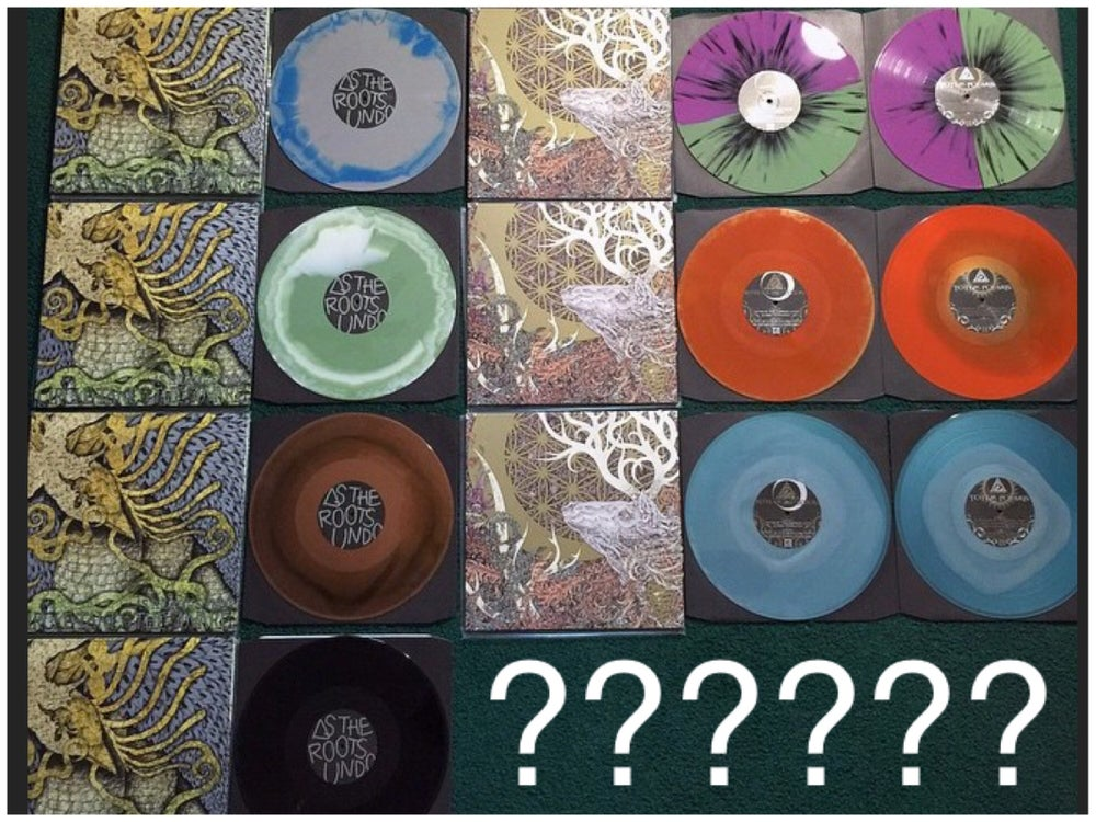 Image of LP Bundle - Both LPs on mystery color vinyl