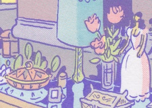 Hard Home - a risograph diptych