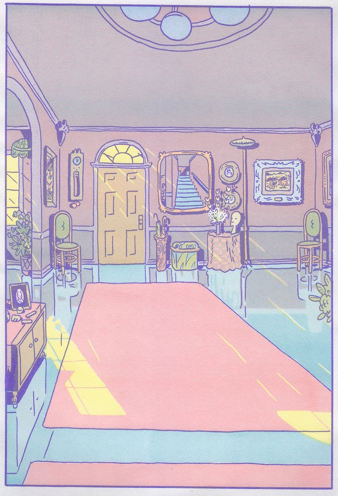 Image of Hard Home - a risograph diptych
