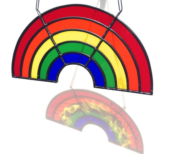 Image of Stained Glass Rainbow