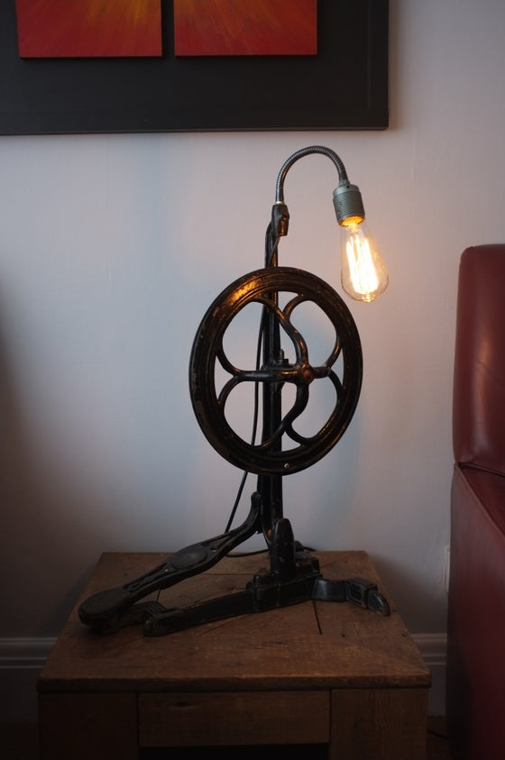 Image of Vintage Dentists Drill Lamp