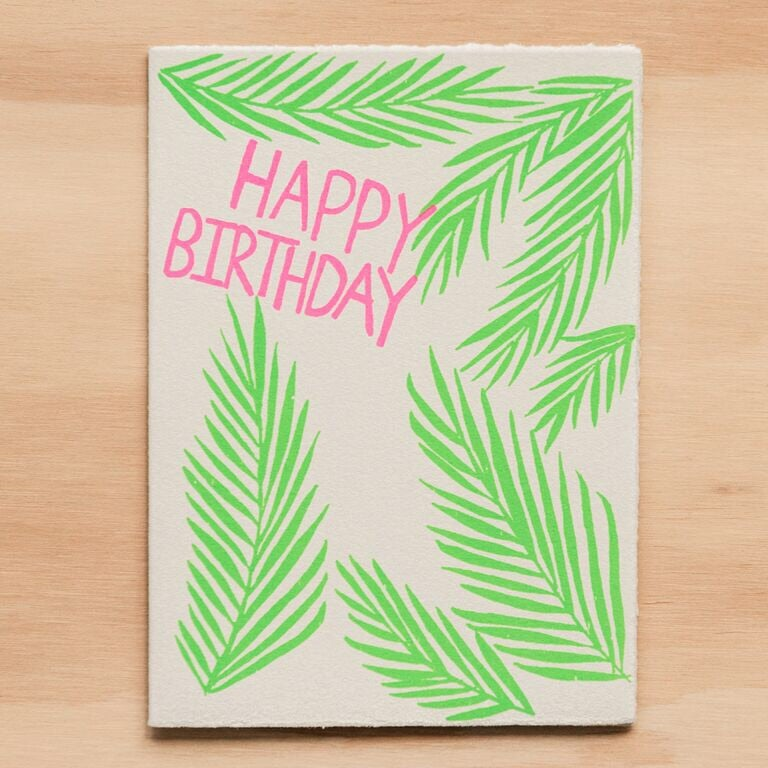 Image of Birthday Palms