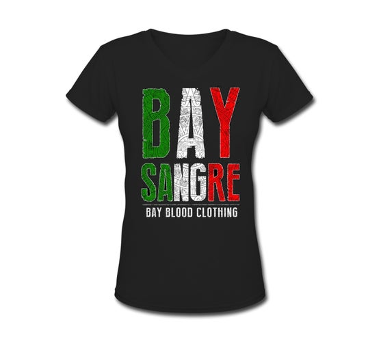 Image of Bay Sangre Women's Vneck