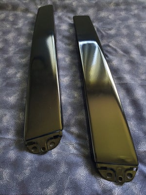 Image of Audi b5 A4, S4, RS4 Gloss Black Powdercoated B-Pillar Set