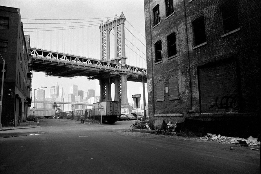 Image of Manhattan Bridge Dumbo - Vintage NYC