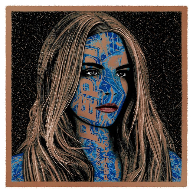 Image of PEPSI:CARA - metallic BRONZE edition