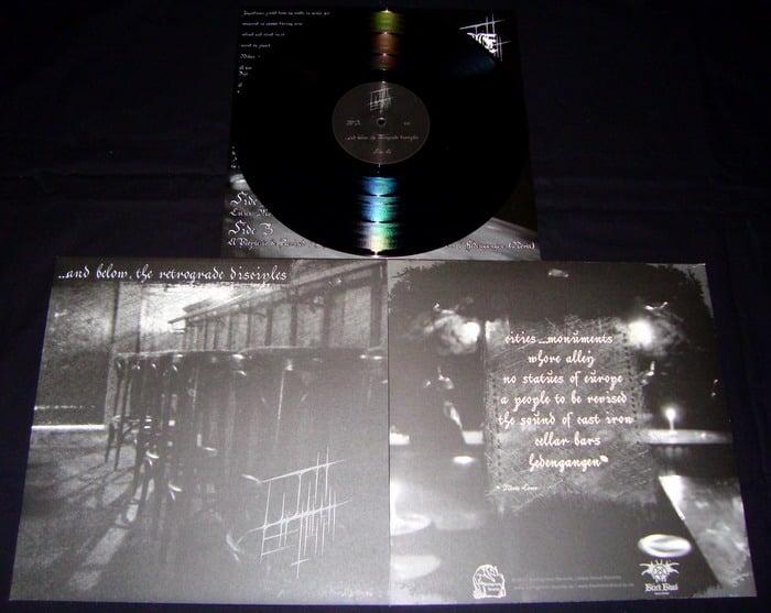 Image of LICHT ERLISCHT - ...And Below, The Retrograde Disciples (LP)
