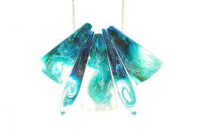 Image of Seafoam Swirl Necklace