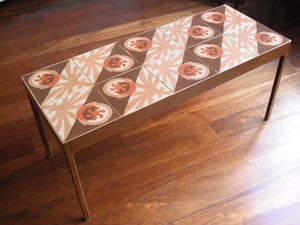 Image of Bill and Rickee cement tile coffee table
