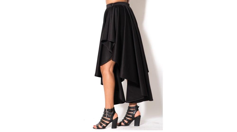 Image of Asymmetrical Skirt