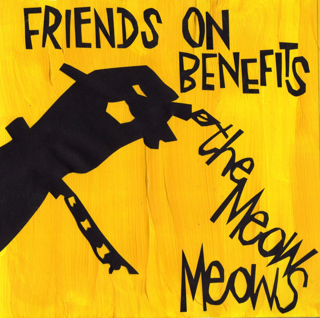 "Image of Friends On Benefits Limited Edition 7"" Vinyl EP"