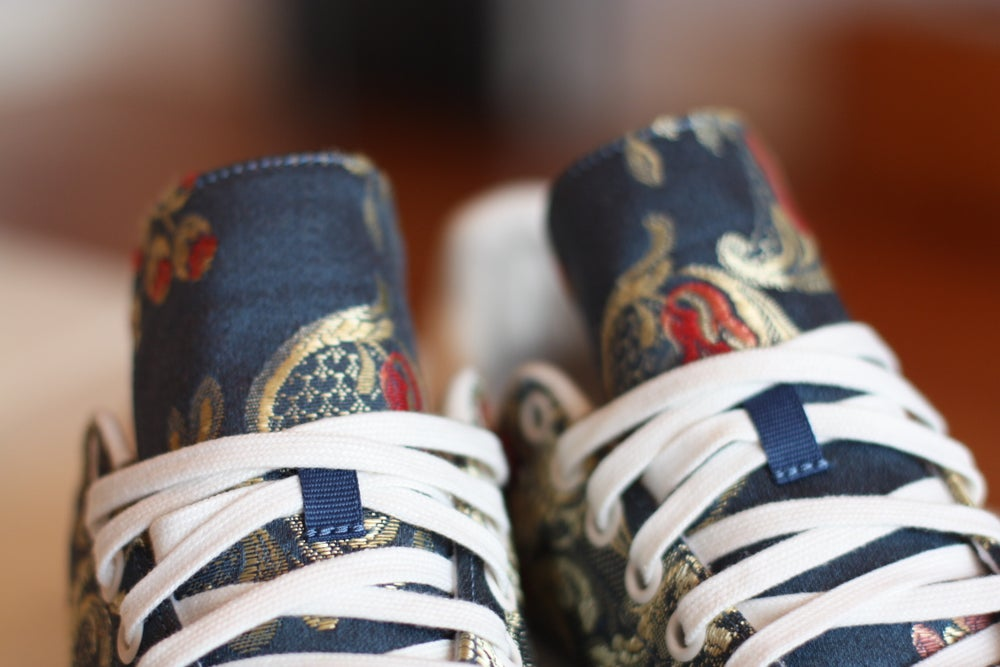 "Image of ADIDAS STAN SMITH PHARRELL WILLIAMS JACQUARD ""BLUE"" B25384"