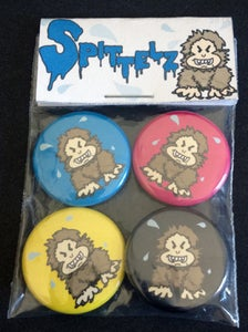 "Image of Spittelz ""CMYK"" Limited Edition Button Set"