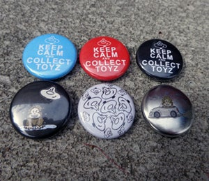 Image of Collecting Toyz Assorted Buttons