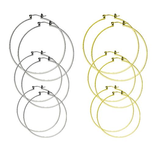 Image of DoLL Earring Hoop Set