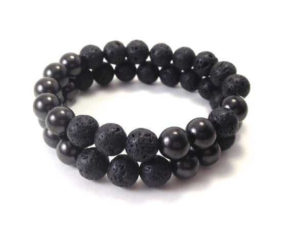Image of Men's Infinity Lava & Shungite