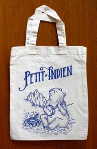 Image of petit indien - tote bag