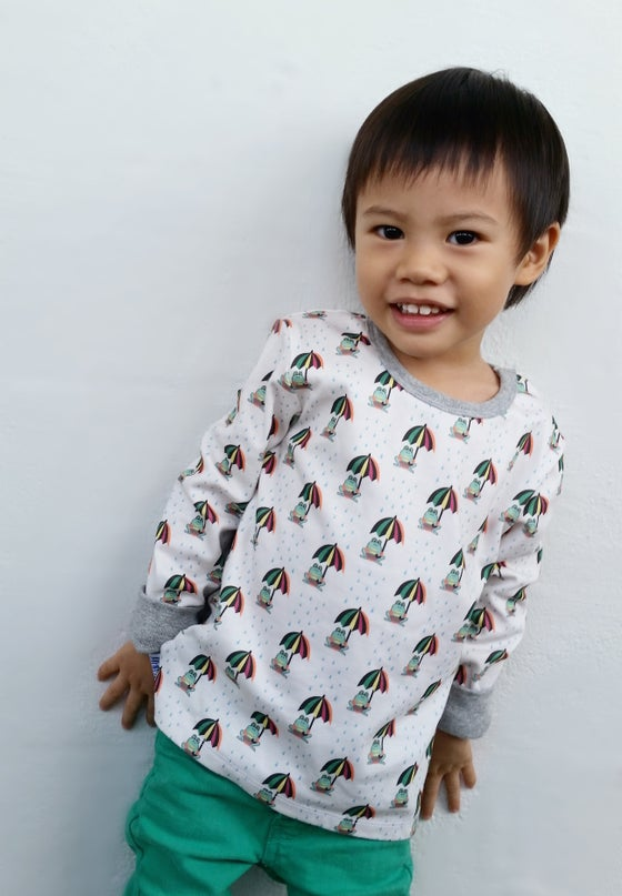 Image of Kids Shirt - Frogs
