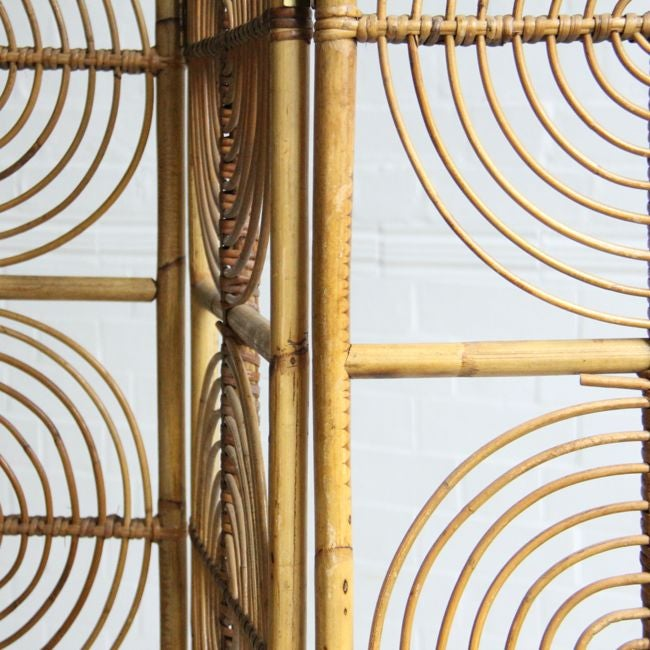 Image of 1970's bamboo Screen