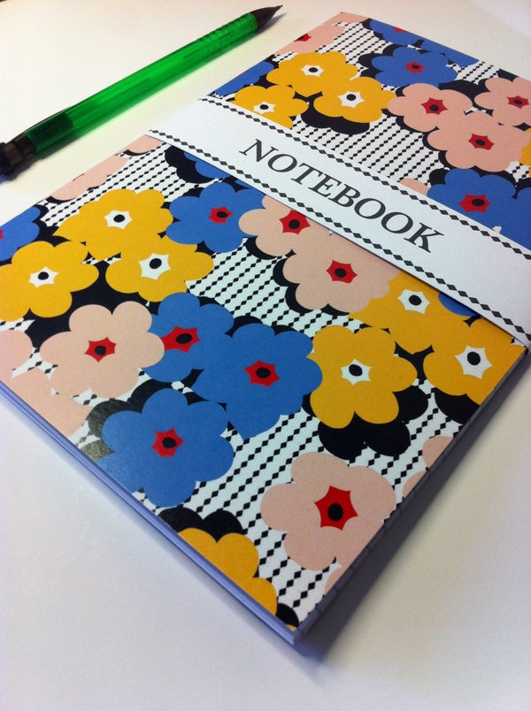 Image of Multi floral Notebook
