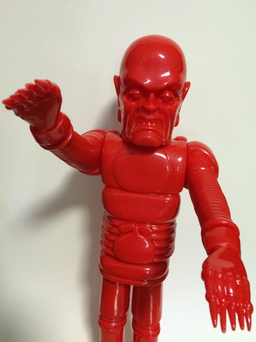 """Image of The Iron Monster 15"""" Blank Red"""