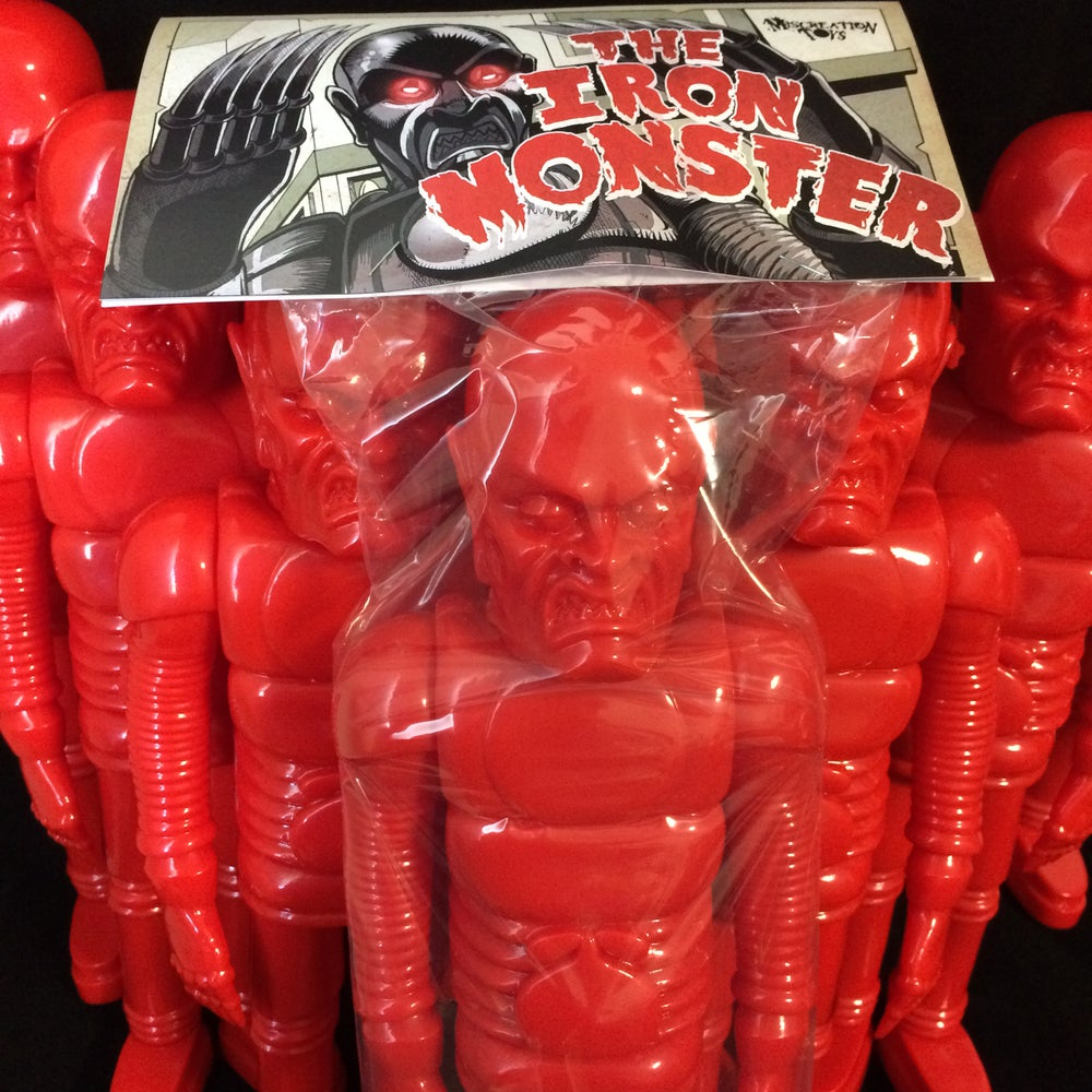 "Image of The Iron Monster 15"" Blank Red"