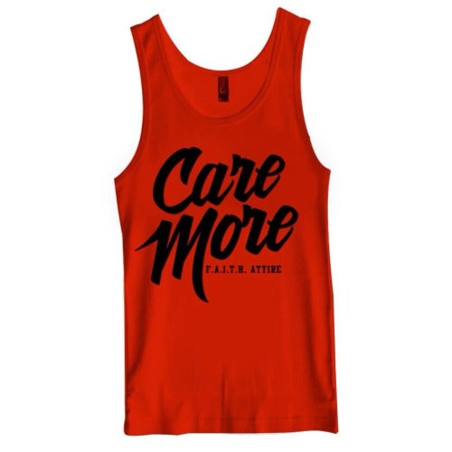 "Image of ""Care More"" Tank"