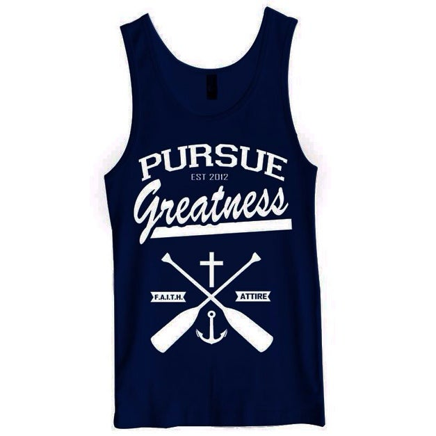 "Image of ""Pursue Greatness"" Tank"