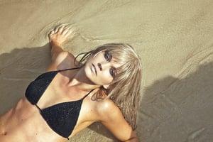 Image of Summertime Crochet Bikini Top