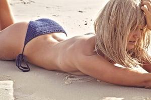 Image of Summer Vibe Tie Side Bikini Bottom