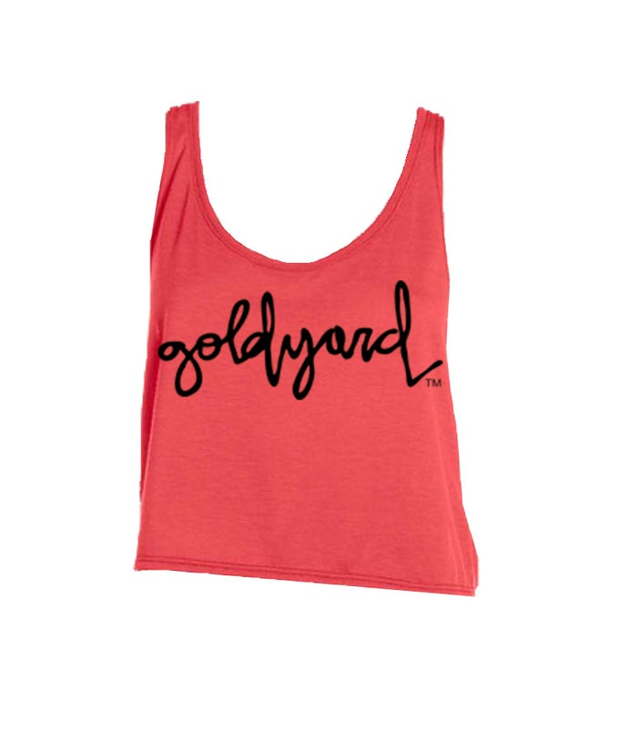 Image of Goldyard Logo Crop Top (More Colors)